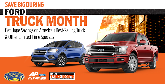 Save During Ford Truck Month