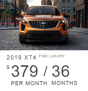 2019 Cadillac XT4 FWD Luxury
