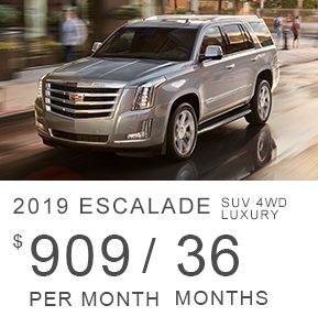 2019 Cadillac Escalade SUV 4WD Luxury