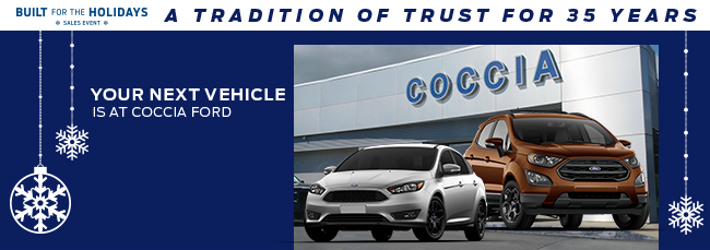 Your Next Vehicle Is At Coccia Ford