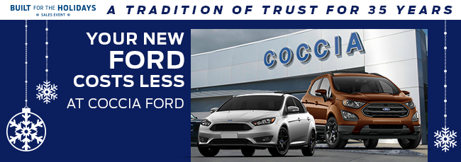 Your New Ford Costs Less