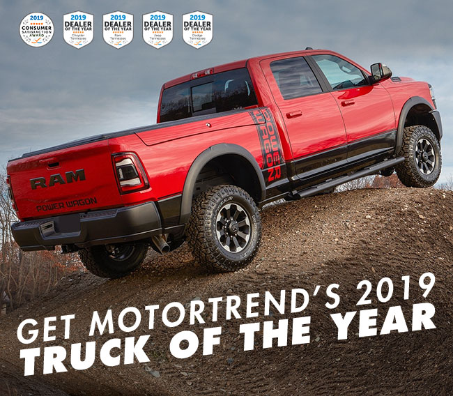 Get MotorTrend's 2019 Truck Of The Year