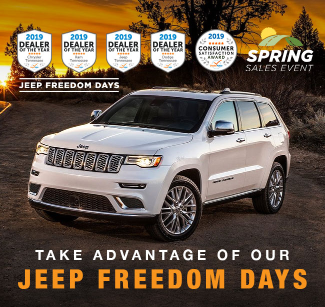 Take Advantage Of Our Jeep Freedom Days