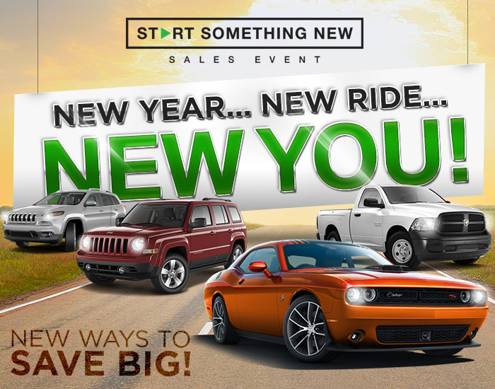 New Year..New Ride...New You!