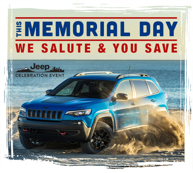 This Memorial Day We Salute & You Save
