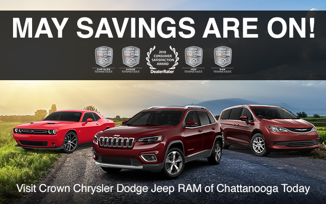 May Savings Are On!