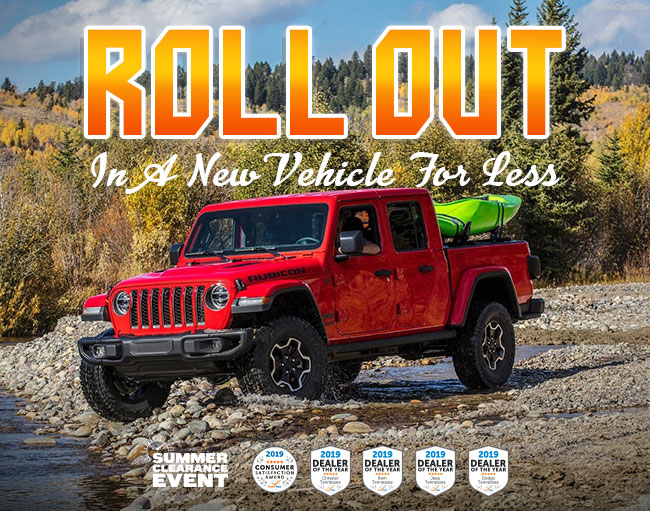 Roll Out In A New Vehicle For Less