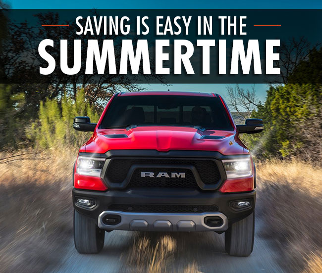 Saving Is Easy In The Summertime