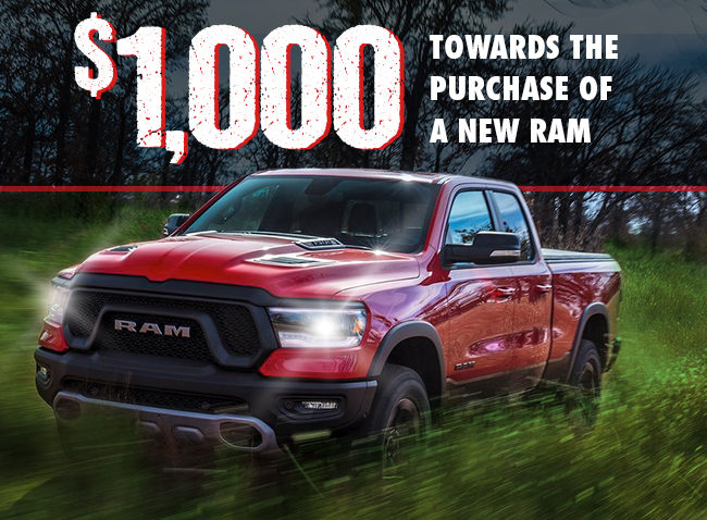 Make The Switch To A New  RAM Truck