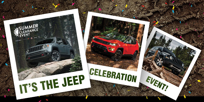It's The Jeep Celebration Event!