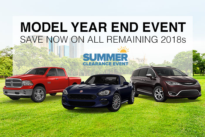 Model Year-End Event
