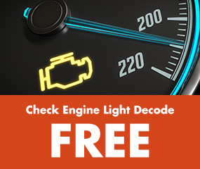 Check Engine Light Decode