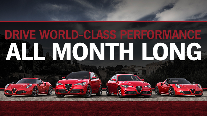 Drive World-Class Performance All Month Long