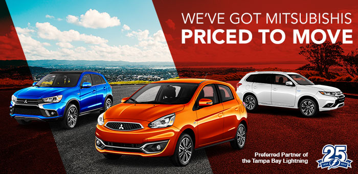We've Got Mitsubishis Priced To Move