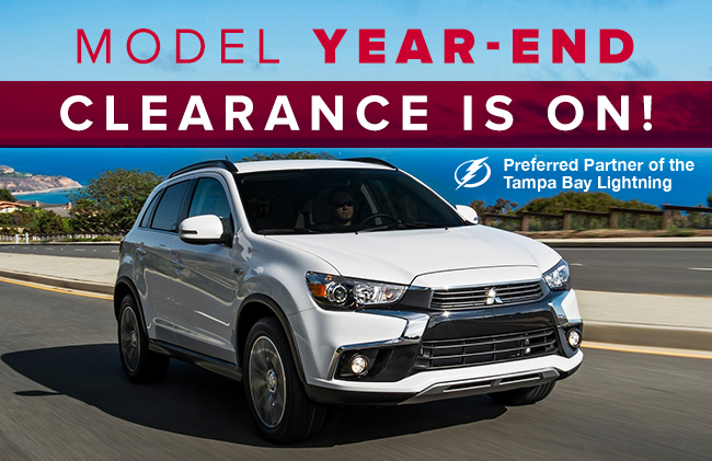 Model Year-End Clearance Is On!