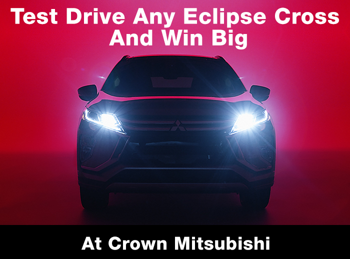 test drive Any Eclipse Cross And Win Big