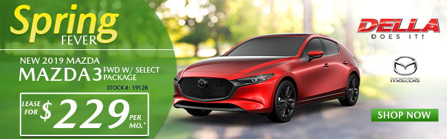 2019 MAZDA3 FWD W/ SELECT PACKAGE