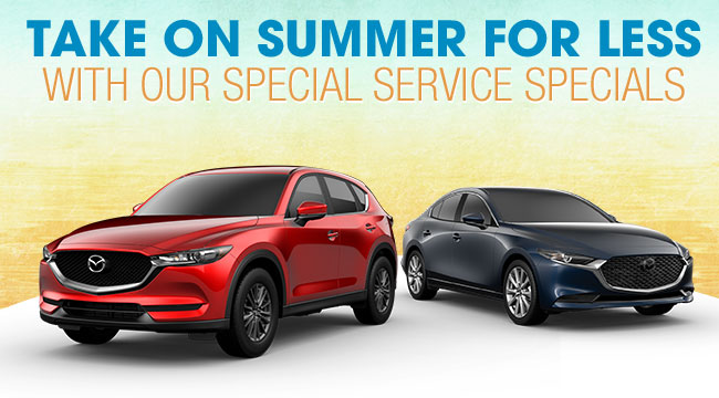 Take On Summer For Less With Our Special Service Specials