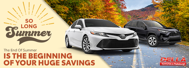 The End Of Summer Is The Beginning Of Your Huge Savings