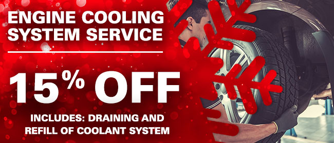 15% Off Engine Cooling System Service