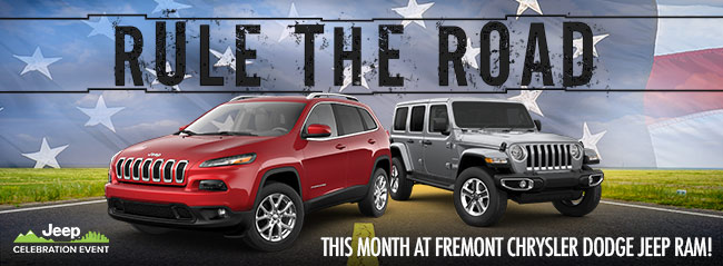 Rule The Road During Our Jeep Celebration Event