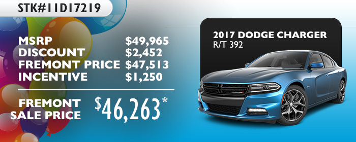 2017 Dodge Charger R/T 392