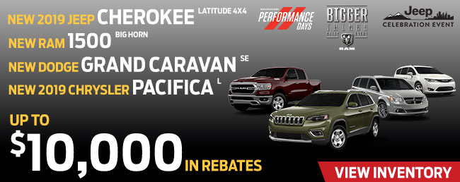 Up To $10,000 In Rebates