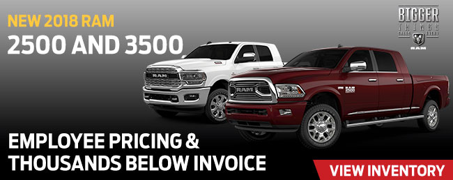 2018 RAM 2500 And 3500