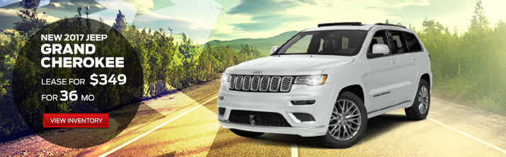 2017 Jeep Grand Cherokee Lease For $349 Per Month For 36 Months