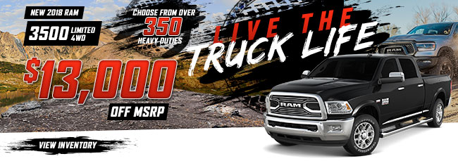 2018 Ram 3500 Limited 4WD