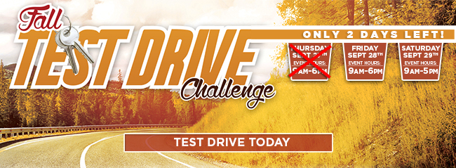 Fall Test Drive Challenge