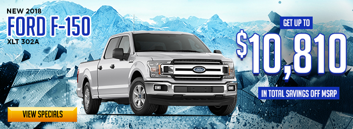 NEW 2018 Ford F-150 XLT 302A