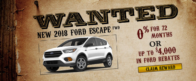 2018 Ford Escape FWD