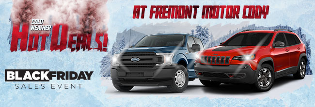 Cold Weather Deals at Freemont Motor Cody