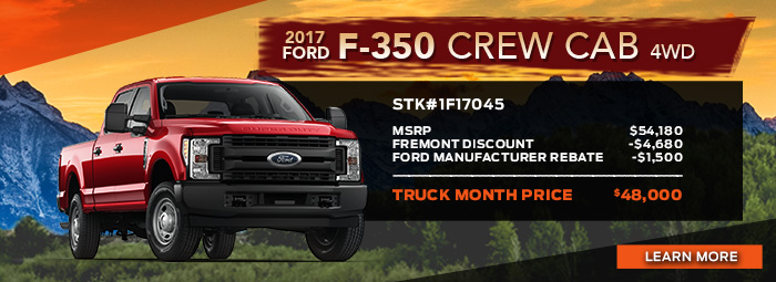 New 2017 Ford F-350 Crew Cab 4wd