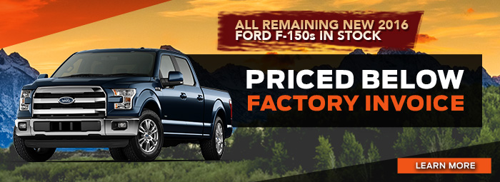 All Remaining New 2016 Ford F-150 In Stock