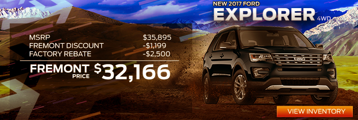 New 2017 Ford Explorer 4WD