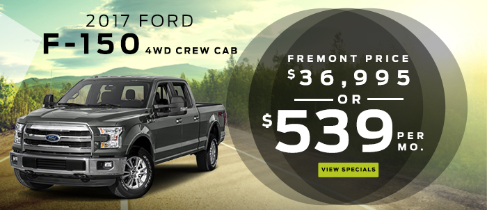 New 2017 Ford F-150 4WD Crew Cab