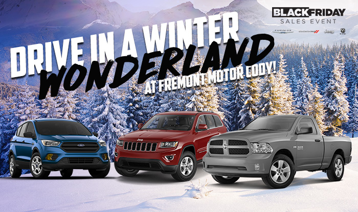 Drive In A Winter Wonderland At Fremont Motor Cody!
