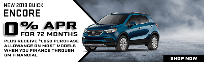 New 2019 Buick Encore