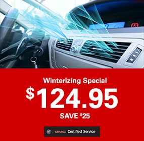 Winterizing Special Service Offer