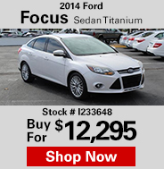 2014 Ford Focus Sedan Titanium