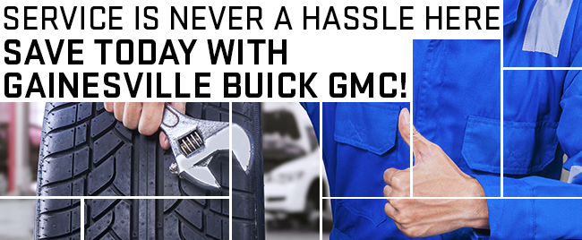 Service Is Never A Hassle Here. Save Today With Gainesville Buick GMC!
