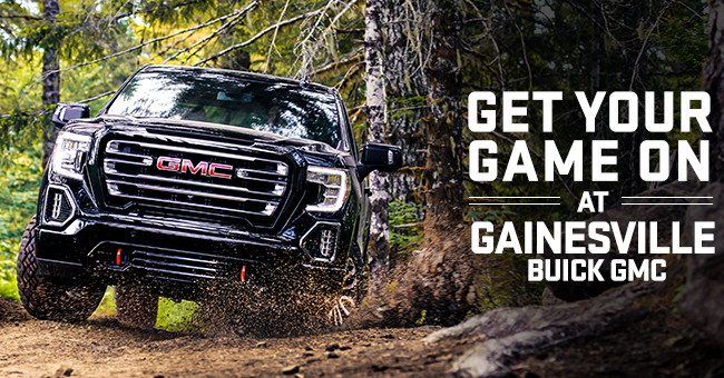 Get Your Game On At Gainesville Buick GMC!