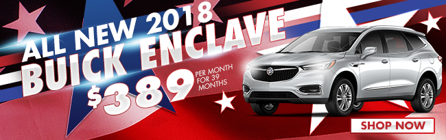 ALL NEW 2018 Buick Enclave