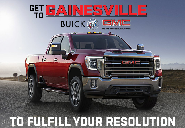Get To Gainesville Buick GMC To Fulfill Your Resolution