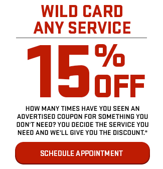 Wild Card Any Service 15% Off