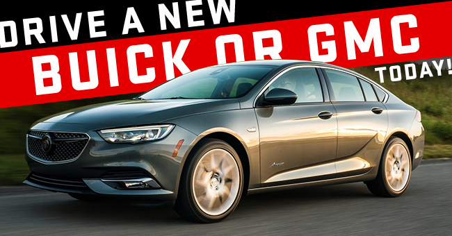 Drive A New Buick or GMC Today!