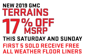 17% off MSRP This Saturday and Sunday