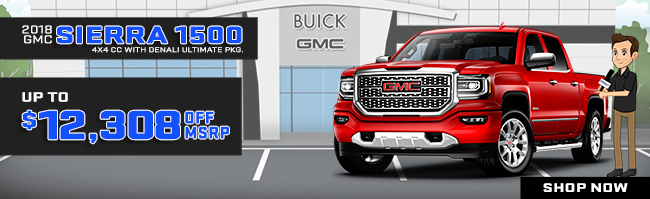 2018 GMC Sierra 1500 4x4 Crew Cab with Denali Ultimate Package